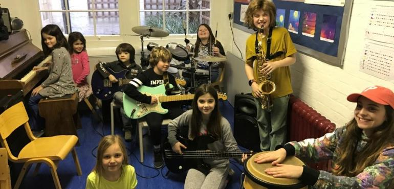 Rock Band Club | Dallington School | Independent School in