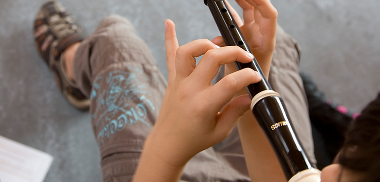 Recorder and Ukulele